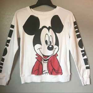 Disney Mickey Mouse Graphic Long Sleeve Tee